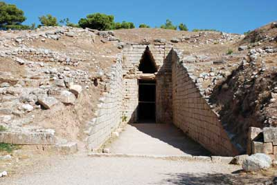 Treasury of Atreus at Mycenae